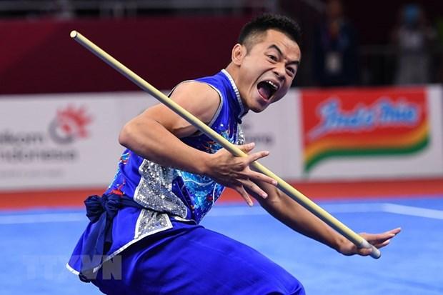 Doan Viet Nam gianh them 2 HCD Wushu va Hai mon phoi hop hinh anh 1