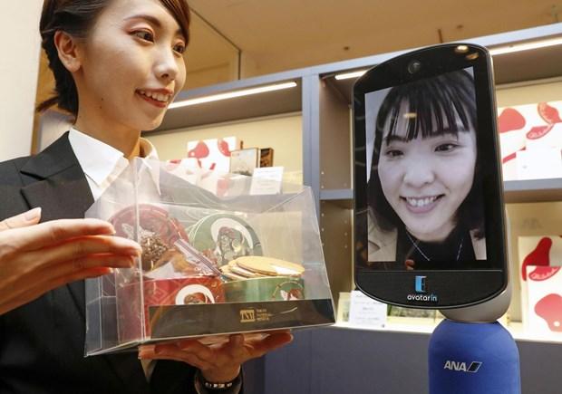 Nhat Ban khai truong cua hang dau tien tren the gioi co robot avatar hinh anh 1