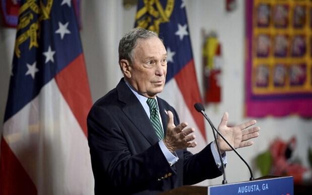 Hoi nghi COP 25: Ty phu Bloomberg se cong bo nhung cam ket cua My hinh anh 1