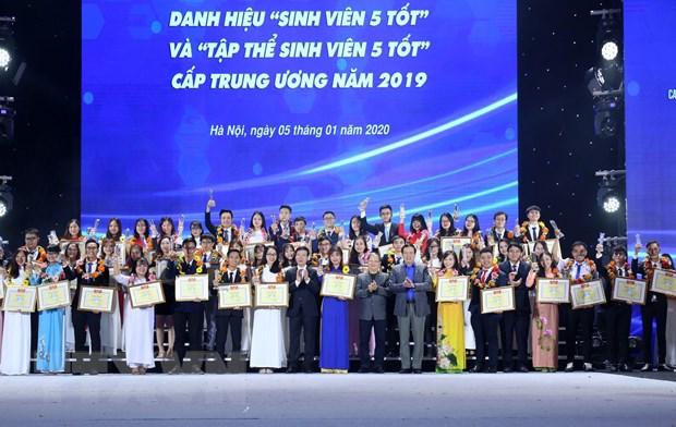 Hoi Sinh vien Viet Nam vinh du don nhan Huan chuong Doc lap hang Nhat hinh anh 2