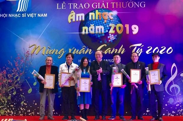 68 cong trinh, tac pham xuat sac duoc trao Giai thuong Am nhac 2019 hinh anh 1