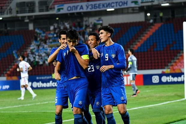 U23 Uzbekistan de bep U23 UAE, doi dau Saudi Arabia o ban ket hinh anh 1