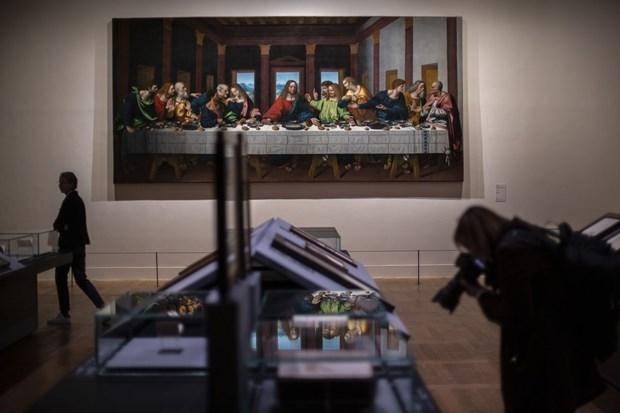 Bao tang Louvre trung bay xuyen dem nhung kiet tac cua Leonardo hinh anh 1