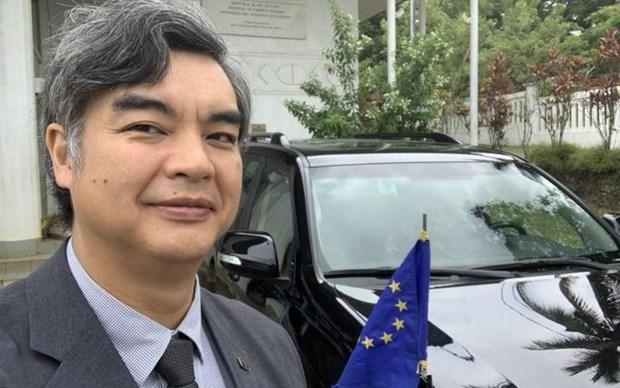 Đại sứ mới của Liên minh châu Âu tại Thái Bình Dương, Sujiro Seam. Nguồn: rnz.co.nz
