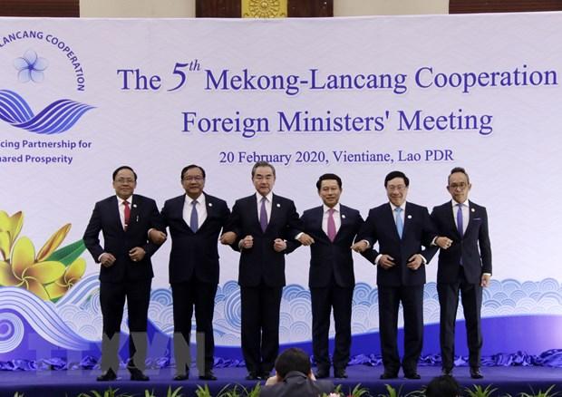 Cac nuoc khu vuc song Mekong-Lan Thuong nhat tri tang cuong hop tac hinh anh 1