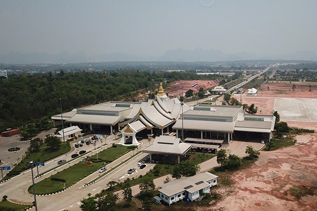 Cau huu nghi Thai Lan-Lao so 3 dong cua tu dem 22/3 do dich COVID-19 hinh anh 1