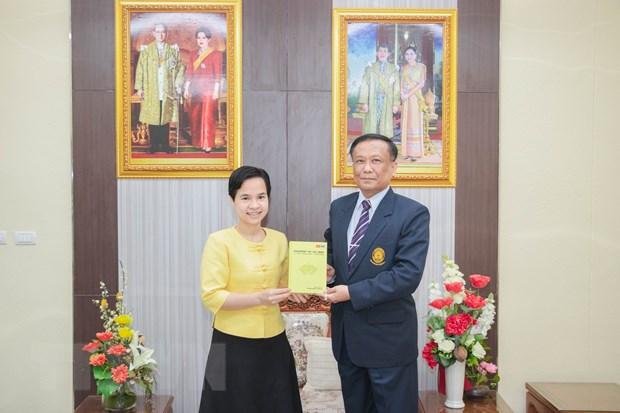 Xuat ban sach tieng Anh ve Chu tich Ho Chi Minh tai Thai Lan hinh anh 1