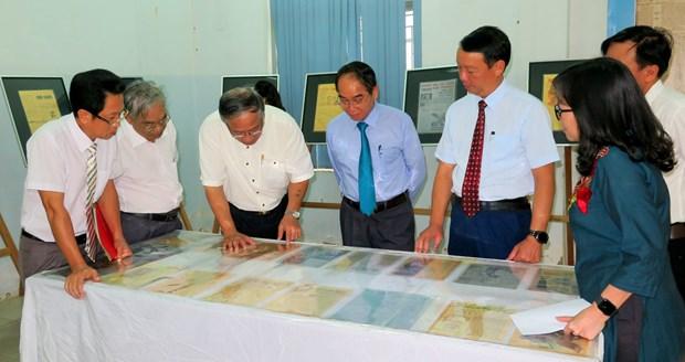 Hinh tuong Bac Ho tren bao chi cach mang o mien Nam 1945-1975 hinh anh 1