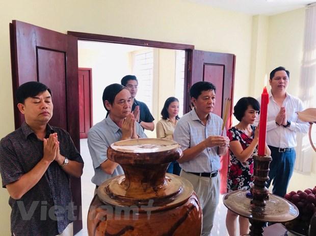 Campuchia: Trang trong le dang huong Bac Ho tai tinh Preah Sihanouk hinh anh 1