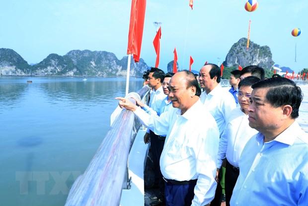 ''Quang Ninh can chien luoc phat trien kinh te du lich mui nhon'' hinh anh 4