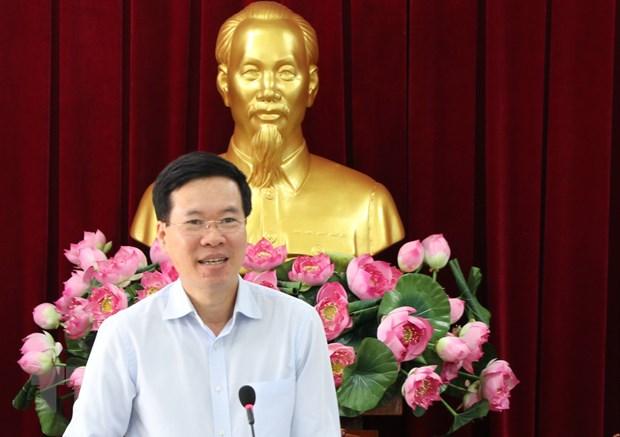 Kiem tra viec to chuc Dai hoi Dang cac cap tai tinh Tuyen Quang hinh anh 1