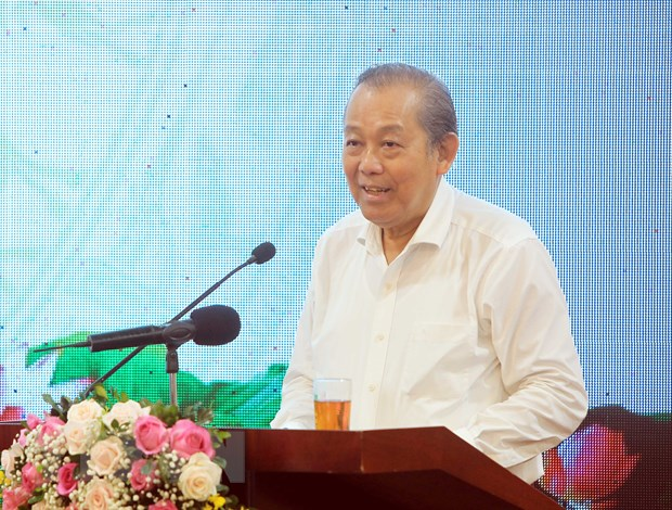 Phó Thủ tướng Thường trực Trương Hòa Bình. (Ảnh: An Đăng/TTXVN)