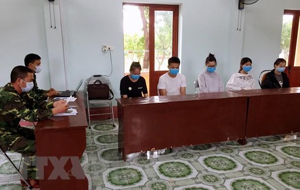 Quang Nam: Khoi to vu an moi gioi nguoi xuat, nhap canh trai phep hinh anh 1