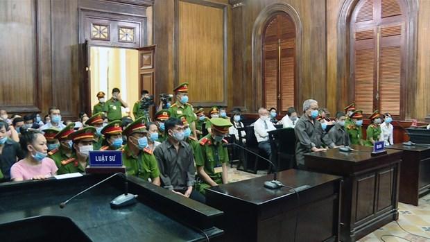 TP Ho Chi Minh: Toa an xet xu 8 bi cao xam pham an ninh quoc gia hinh anh 1