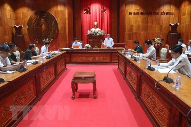 Tien Giang can xay dung kich ban ung pho lau dai ung pho thien tai hinh anh 1
