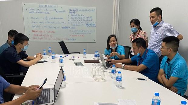Bac Giang: Cong nhan Cong ty Luxshare-ICT da di lam tro lai hinh anh 1