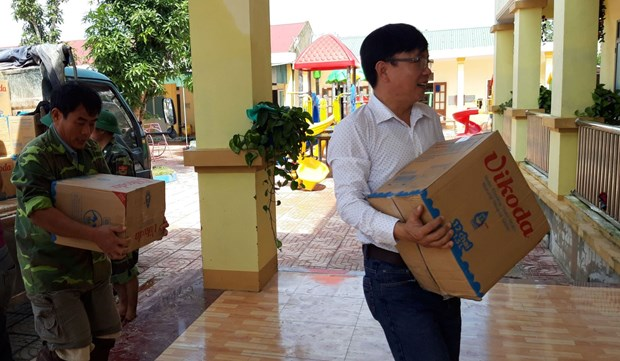Co quan Trung uong Hoi Nha bao Viet Nam: Ket noi tinh nguoi sau lu du hinh anh 2