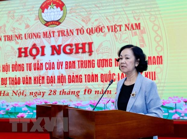 Gop y du thao van kien Dai hoi XIII: De cao su dong thuan cua nhan dan hinh anh 2