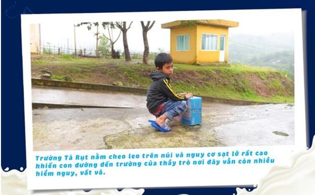 'Co gai Ha Lan' chung tay chia se cung hoc tro vung lu Quang Tri hinh anh 3
