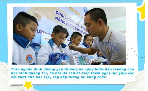 'Co gai Ha Lan' chung tay chia se cung hoc tro vung lu Quang Tri hinh anh 6