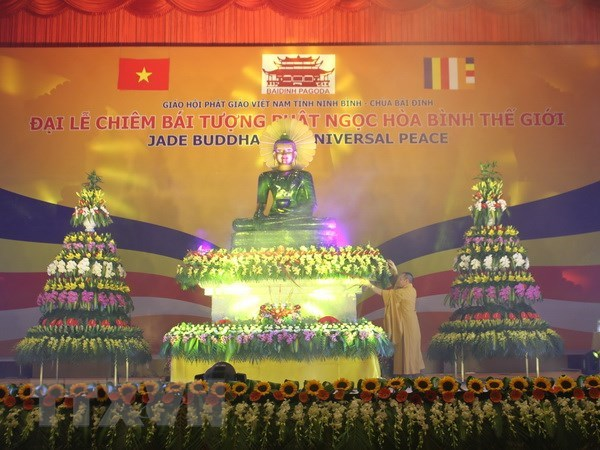 Quang Ninh: Chiem bai tuong Phat ngoc 3,8 tan tai chua Quynh Lam hinh anh 1