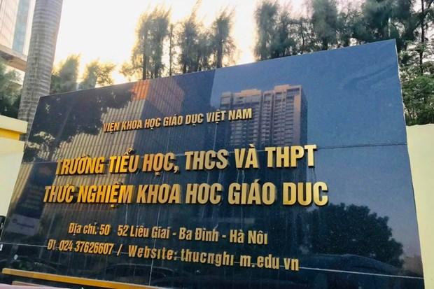 Ha Noi: Phat hien gioi trong suat an cua hoc sinh truong Thuc nghiem hinh anh 1