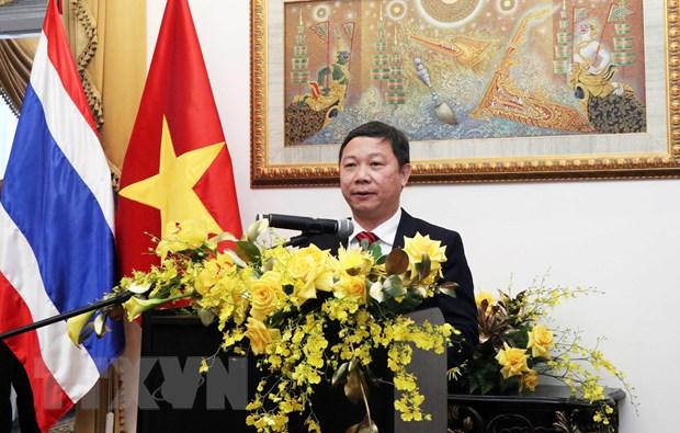 Thuc day quan he hop tac Viet Nam-Thai Lan tren cac linh vuc hinh anh 1