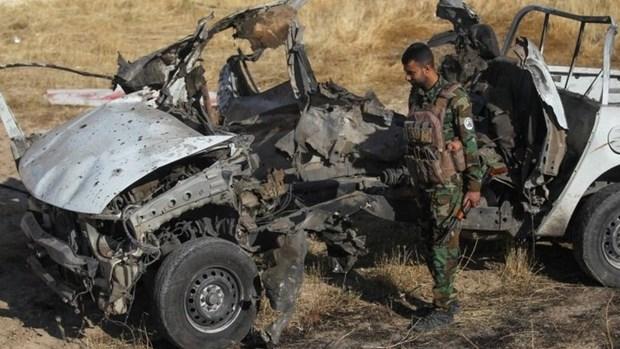 Iraq: Danh bom xe tai Anbar lam gan 10 nhan vien an ninh thuong vong hinh anh 1