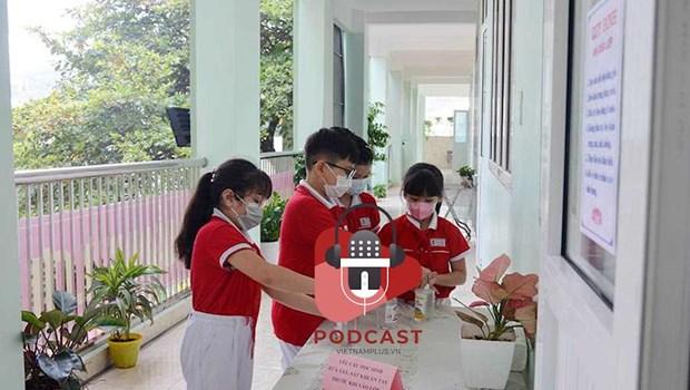 [Audio] Dam bao khung thoi gian nam hoc 2020-2021 cho cac hoc sinh hinh anh 1