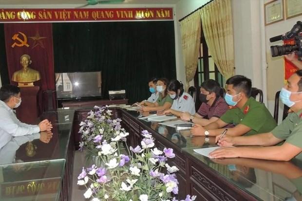 Ha Nam: Phat 7,5 trieu dong doi tuong dang tin sai su that ve COVID-19 hinh anh 1