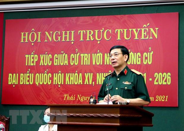 Cu tri Thai Nguyen tin nhiem cao nhung nguoi ung cu dai bieu Quoc hoi hinh anh 1