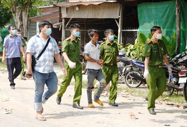 Tay Ninh: Bat giu nghi pham giet cha de roi chon xac phi tang hinh anh 1