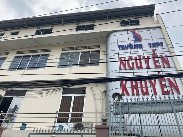 Dong Nai: Truong THPT Nguyen Khuyen thong tin ve nu sinh co hinh xam hinh anh 1