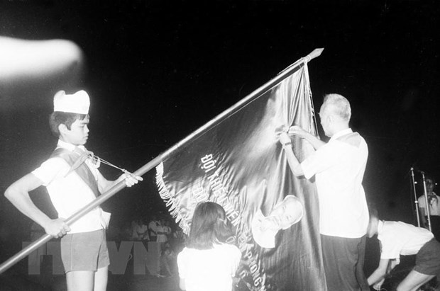 Doi Thieu nien Tien phong Ho Chi Minh - 80 nam viet nen trang su vang hinh anh 1