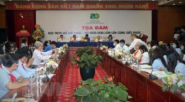 Doi Thieu nien Tien phong Ho Chi Minh - 80 nam viet nen trang su vang hinh anh 2