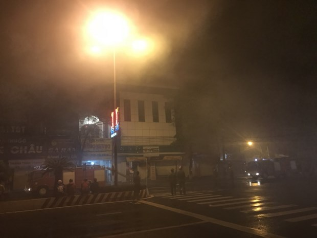 Kien Giang: Chay tru ATM, lua lan khap chi nhanh mot ngan hang hinh anh 1