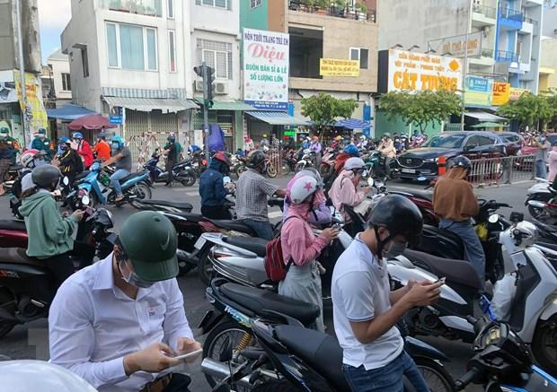 TP Ho Chi Minh un tac giao thong tai cac chot kiem soat quan Go Vap hinh anh 3