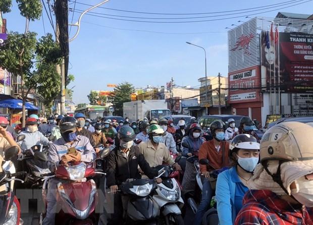 TP Ho Chi Minh un tac giao thong tai cac chot kiem soat quan Go Vap hinh anh 2
