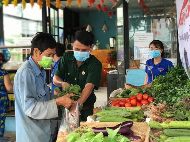 Thanh nien Thanh pho Ho Chi Minh chung tay chong dich COVID-19 hinh anh 1