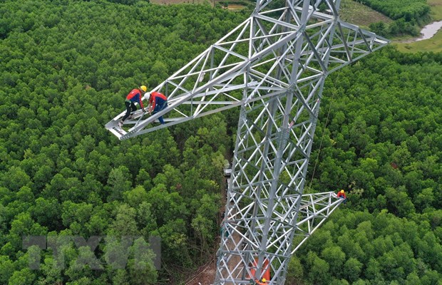 Go nut that de Du an duong day 500kV mach 3 nhanh ve dich hinh anh 1