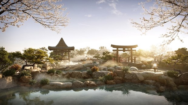 Swanlake Residences - to hop Onsen 1.000 ty dong trong Ecopark hinh anh 1
