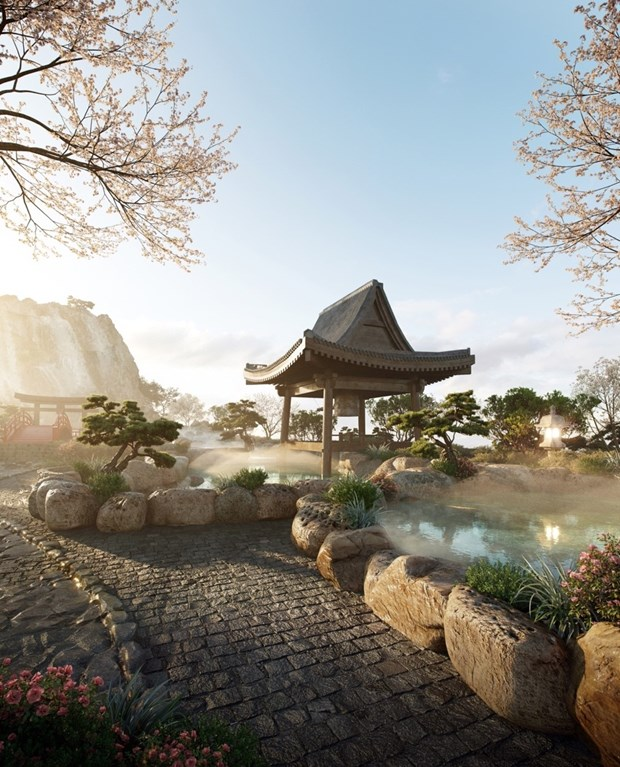 Swanlake Residences - to hop Onsen 1.000 ty dong trong Ecopark hinh anh 3