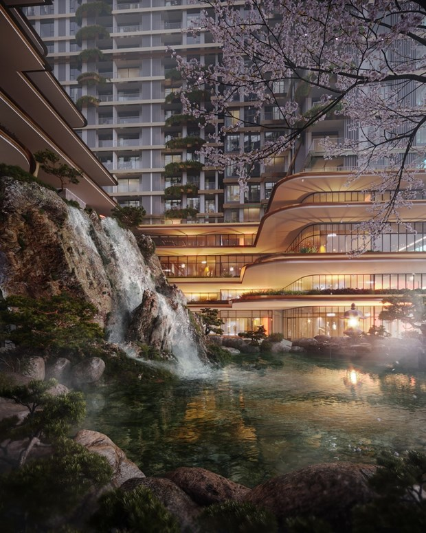 Swanlake Residences - to hop Onsen 1.000 ty dong trong Ecopark hinh anh 8