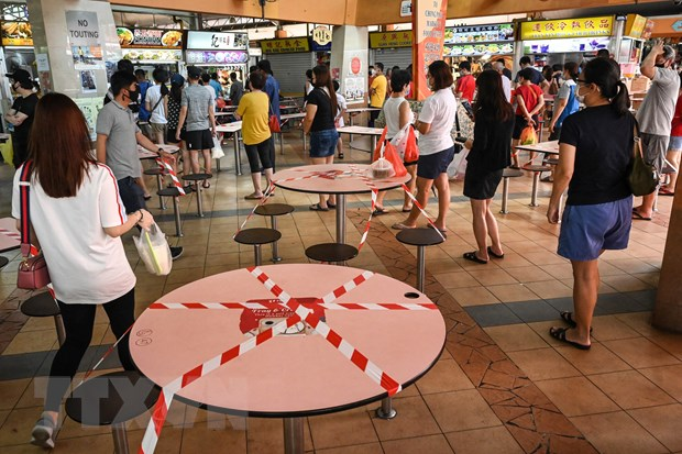 Bung phat dot dich moi, Singapore no luc ''bit lo hong'' phong chong hinh anh 1