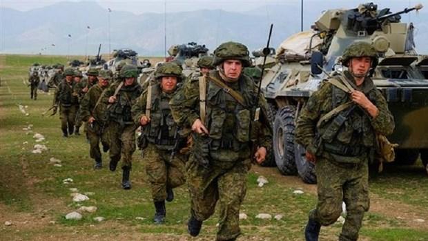 Uzbekistan va Nga dien tap quan su chung ''Phuong Nam-2021'' hinh anh 1
