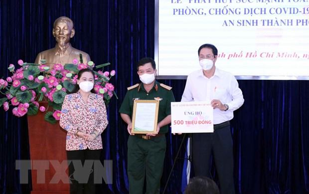 Thanh pho Ho Chi Minh: An dan trong cuoc chien chong giac COVID-19 hinh anh 1