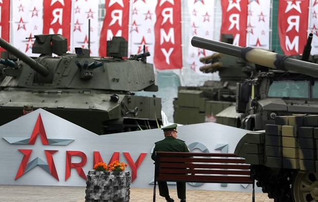 Rosoboronexport: 35 phai doan se tham du Dien dan Army 2021 hinh anh 1
