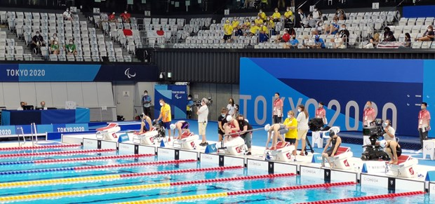 Paralympic Tokyo 2020: Bich Nhu, Thanh Tung dung buoc o vong loai 50m hinh anh 1