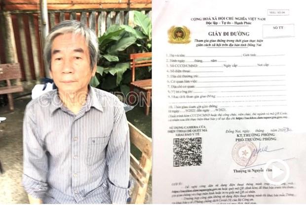 Dong Nai: Chu co so photocopy lam gia giay di duong, giay xet nghiem hinh anh 1