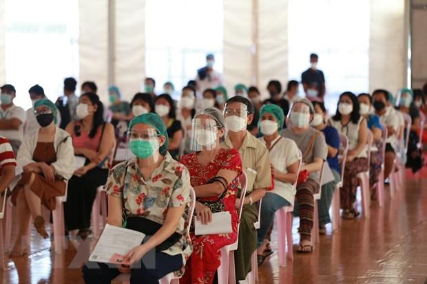 ASEAN trao hang cuu tro COVID-19 tri gia 1 ty USD cho Myanmar hinh anh 1